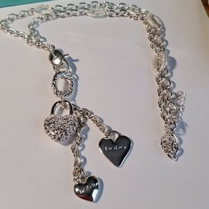 """Heart Necklace by """"bebe"""""""